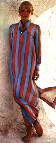 Stripes (Vogue 1970) #stripes