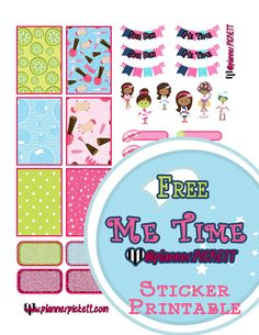 @planner.PICKETT: Free Me Time Planner Printable Stickers