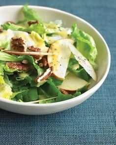 Escarole Salad with Apples and Pecans Recipe