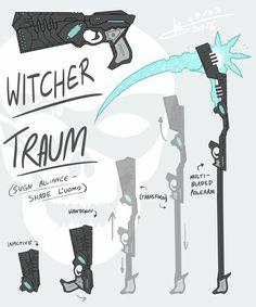 RWBY OC Weapon - Witcher Traum