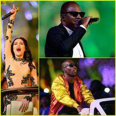 Jessie J & Taio Cruz: Olympics Closing Ceremony!