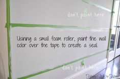 Honey We're Home: How to Paint Perfect Wide Stripes Painting Stripes On Walls, Diy Wall Painting, Paint Stripes, Faux Painting, Wide Stripes, Painting Tips, Striped Furniture, Funky Furniture, Furniture Redo