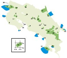 Costa Rica National Parks, Reserves and Protected Areas