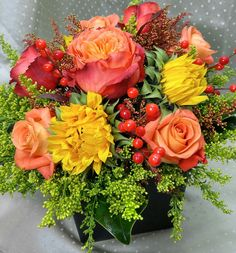 Large Fall Centerpiece.