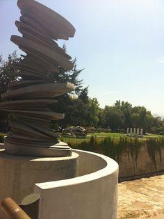 Parque de las Esculturas, Providencia, Santiago, Chile (2013)