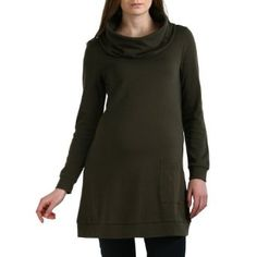 Momo Maternity Women's 'Bailey' Cowl Neck Tunic - Olive M Momo Maternity. $39.99