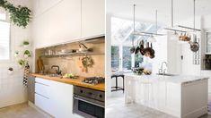 ◁ La MEJOR guia del 2020 para ORGANIZAR UNA COCINA PEQUEÑA Minimalism, Kitchen Cabinets, Simple, Table, Furniture, Home Decor, Homemaking, Little Kitchen, Cleaning Hacks