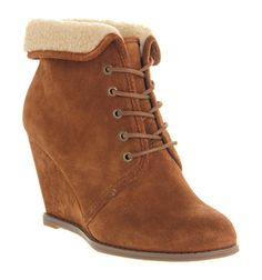 Office Borderline Tan Suede - Ankle Boots YES PLEASE!!!
