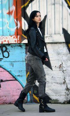 Krysten Ritter, Jessica Jones, Marvel Universe, Punk, Fashion, Moda, Univers Marvel, Fashion Styles, Punk Rock