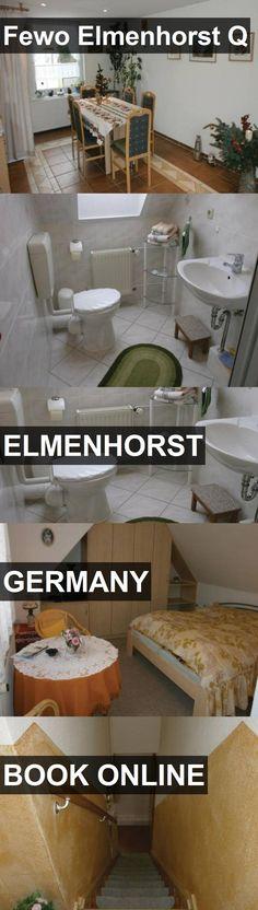 Hotel Fewo Elmenhorst Q in Elmenhorst, Germany. For more information, photos, reviews and best prices please follow the link. #Germany #Elmenhorst #FewoElmenhorstQ #hotel #travel #vacation