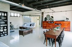 Loft on Division Street in Portland OR by Emerick Architects.