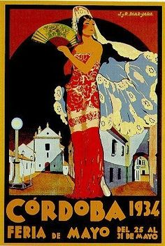 Cordoba, Spain _________________________ #Vintage #Travel #Poster