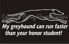 Faster Than Your Honor Student! decal