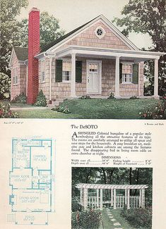 30 s house styles
