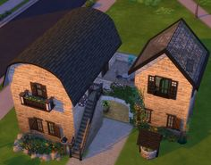 Filling the void with Sims builds Sims 4 House Plans, Sims 4 House Building, Sims 4 House Design, Casas The Sims 4, Sims 4 Characters, Best Sims, Sims Four, Sims 4 Build, Sims 4 Game