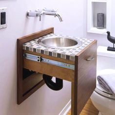 Sink drawer.
