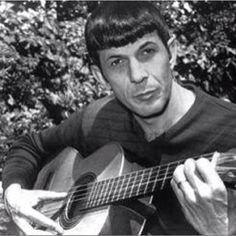 Play guitar! Star Trek / Spock