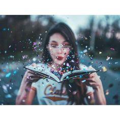 #books #glitter