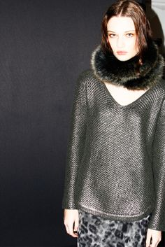 #escorpion #escorpión #moda #punto #fashion #knit #knitwear #080 #barcelona #fashion #fall #winter #2014 #2015 #sweater #jersey #invierno #otoño #14 #15 #fitting #backstage #making #of #fall #fw14 #fw15 #luis #lau