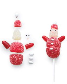 Holiday Gumdrop Pops - Recipes, Crafts, Home Décor and Teacher Christmas Gifts, Christmas Treats, Holiday Treats, Christmas Time, Winter Treats, Christmas Parties, Simple Christmas, Teacher Gifts, Holiday Recipes