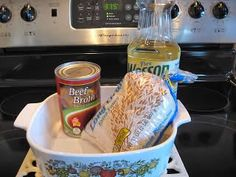 """easy oven """"fried"""" rice-only three ingredients"""