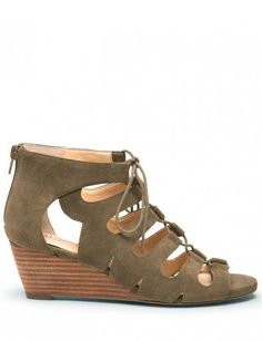 Freyaa Lace-up Wedge Sandals...not a fan of wedges...this is an exception....