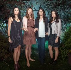witches of east end | Witches of East End cast photo Beauchamp womn Wendy Ingrid Joanna ...