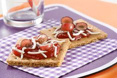 """Honey Graham Dessert """"Pizzas"""" as an afternoon snack? When you're having the ultimate summer staycation, there's no limit to what you can do."""