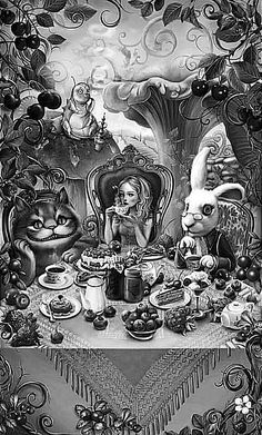 Alice In Wonderland Scene