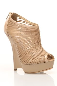 Jimmy Choo Wedge - Love the design of this shoe