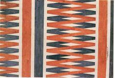 calm in trees — Liubov Popova Textile Design, 1924
