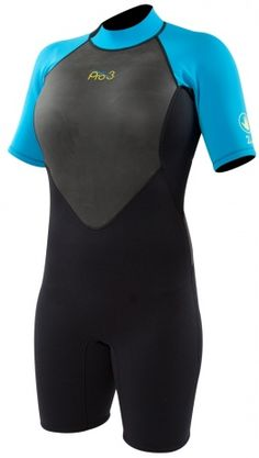 581f9630b6 2mm Womens Body Glove Pro 3 Shorty Springsuit. Female BodiesWetsuitWater ...