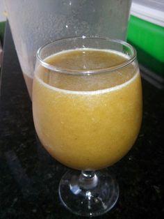 suco de beringela com laranja