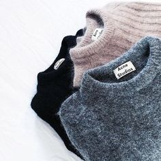 Acne Studios | @andwhatelse