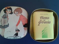 VINTAGE HENO DE PRAVIA SOAP TIN BOX GAL PERFUMERY SPAIN. Disponible en Ebay: http://www.ebay.es/itm/-/122062612851?