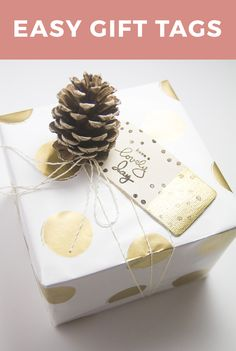 Easy Gift Tags By Hello Luvvy