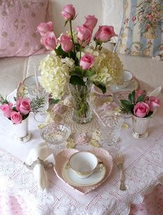 In LoVe with the heart shaped plate and how cute is the teapot napkin ring, beautiful!