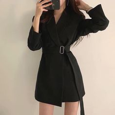 Ulzzang Fashion, Kpop Fashion, Teen Fashion Outfits, Classy Outfits, Cute Fashion, Stylish Outfits, Cool Outfits, Girl Fashion, Fashion Dresses