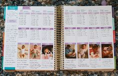 This is a FANTASTIC way to set up the ECLP as a baby book/planner all in one! Love Jen's creativity!