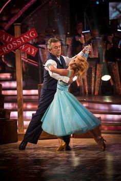 Tony Jacklin and Aliona Vilani - Strictly Come Dancing 2013 - Week 1