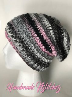 571547ff5b8 Slouchy hat slouch hat pink hat chunky slouch hat READY TO