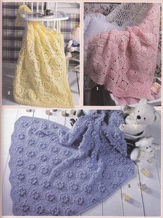 6 Baby Afghan Crochet Patterns - Baby Soft Wraps