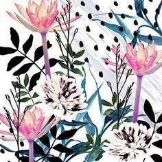 nandamour - Nova fornada de estampas a camino#ontheway #producao #estampando #design #flores #surfacedesign #pattern #patterndesign #digital #art #estampas #textil #textiledesign #surfacespatterns