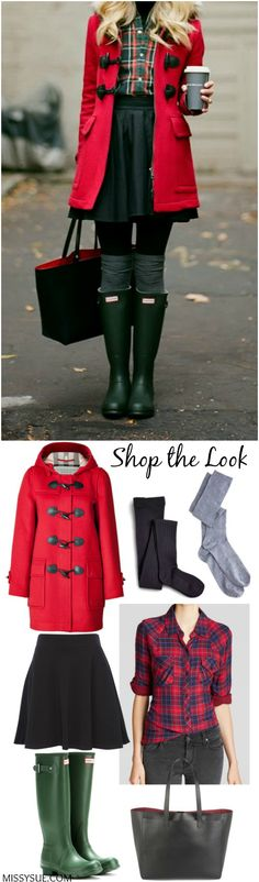 Shop the Look: Red Plaid