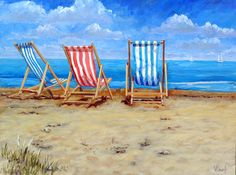 Swanage deck chairs