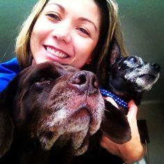 Mis chicos: Rosita y Horacio #dog #pets #perro