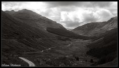 Glen Croe et al from the Rest And Be Thankful viewpoint. You can see the old road cutting it's way through the heart of the glen, and just above & left the new road. Both make for a challenging cycle route. Cycle Route, Old Things, Rest, Thankful, Mountains, Photography, Travel, Voyage, Viajes