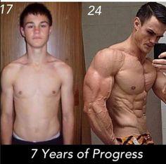 50 Motivational Teen Skinny to Muscular Body Transformation VIDEO #totalbodytransformation