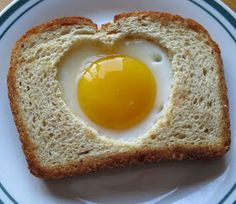 Simply Delicious: Heart shaped Egg Toast