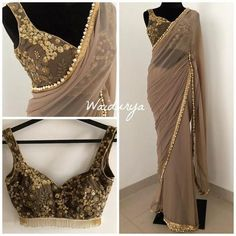 We've watched an Indian movie even once in our lives and we've all been charmed with these colorful traditional outfits, saree styles. Indian Wedding Outfits, Indian Outfits, Patiala Salwar, Anarkali, Sharara, Indian Designer Outfits, Designer Dresses, Designer Sarees, Indische Sarees